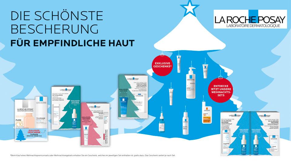 La Roche-Posay Weihnachtssets - mit gratis Geschenk