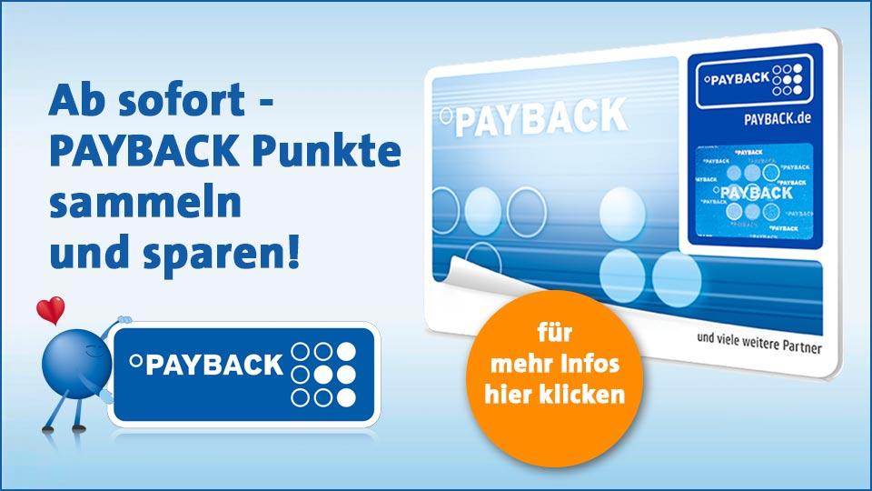 Paybackpunkte sammeln