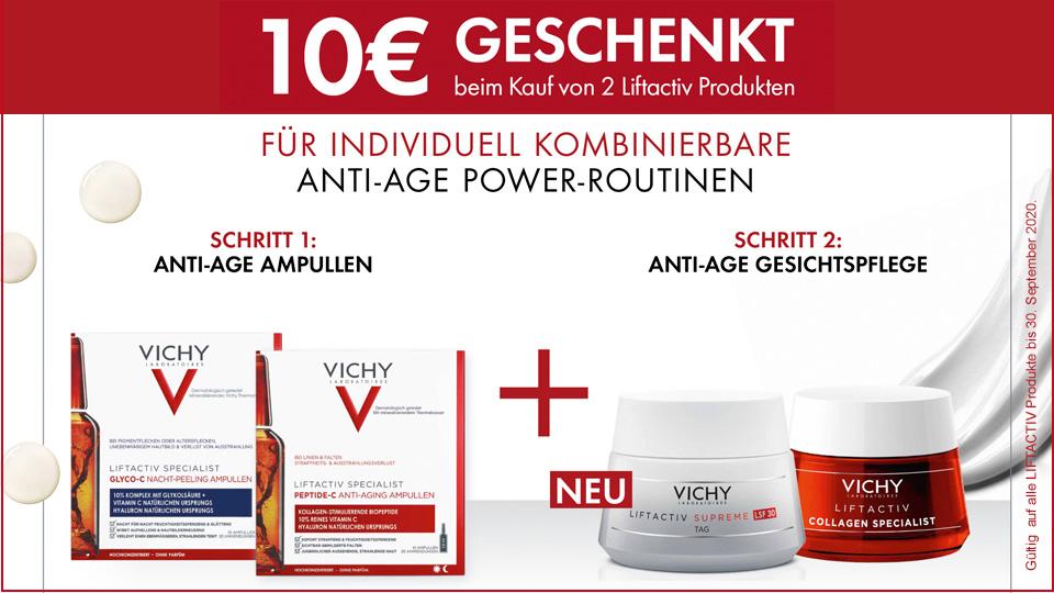 Vichy Liftactiv - 10€ sparen