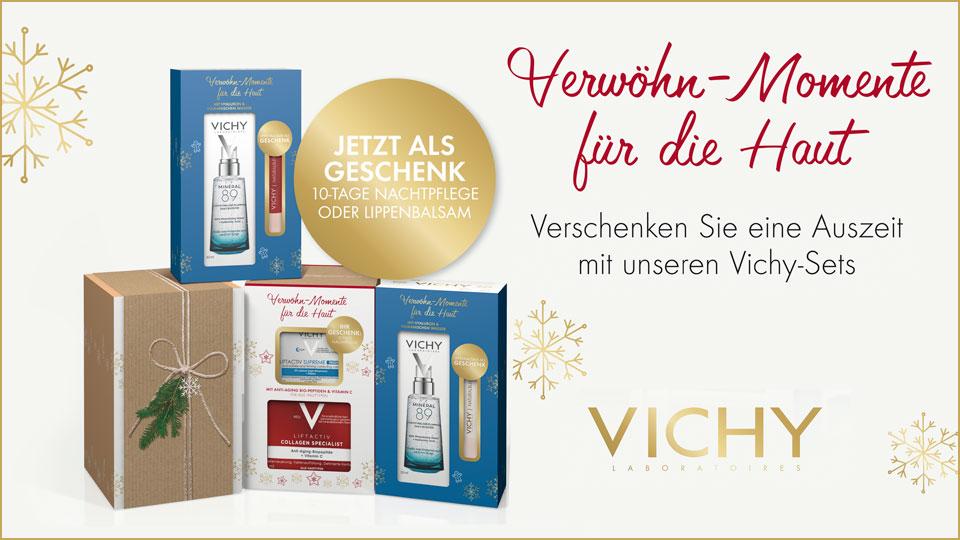 vichy Weihnachtssets - mit gratis Geschenk