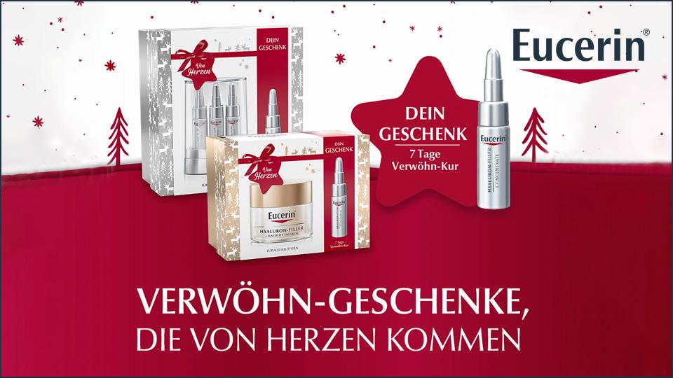 Eucerin Weihnachtssets - mit gratis Geschenk