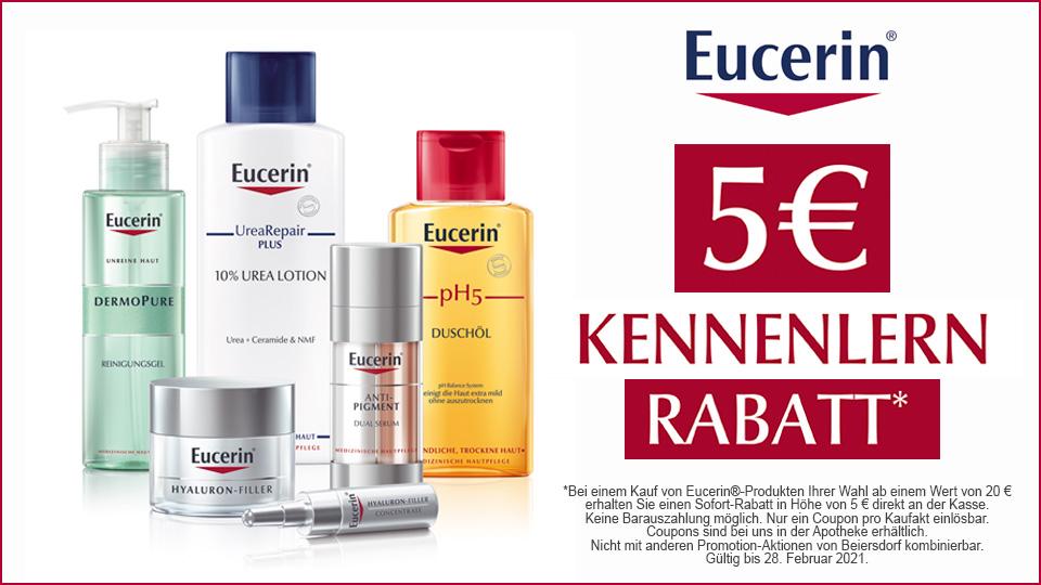 Eucerin® - Kennenlern-Rabatt