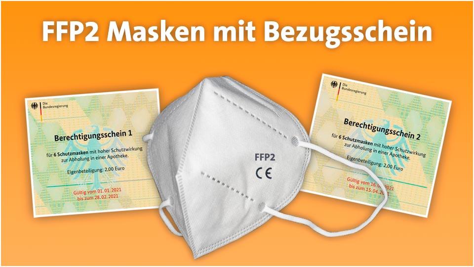 gratis FFP2 Masken