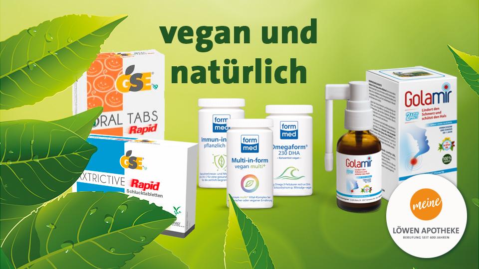 Vegan und natürlich