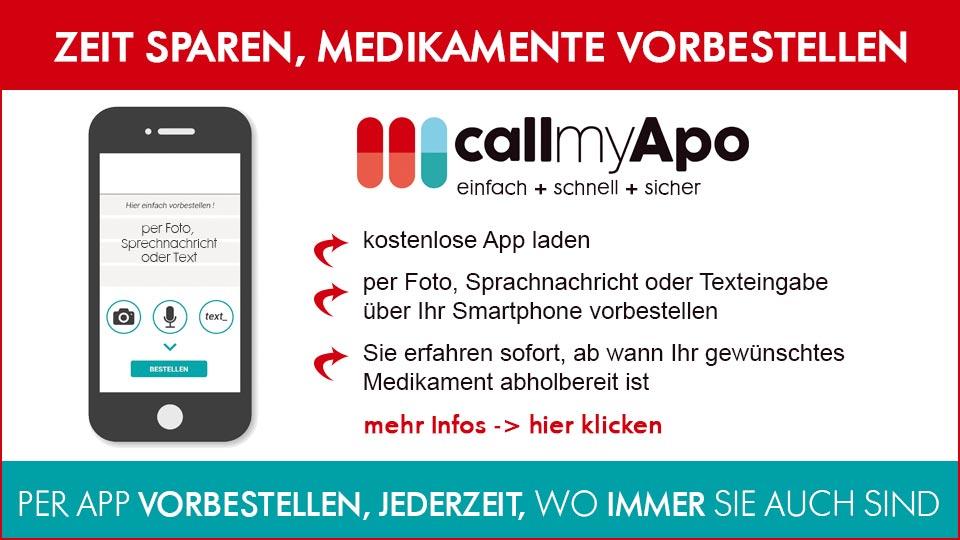 callmyApo - Medikamente per Smartphone vorbestellen