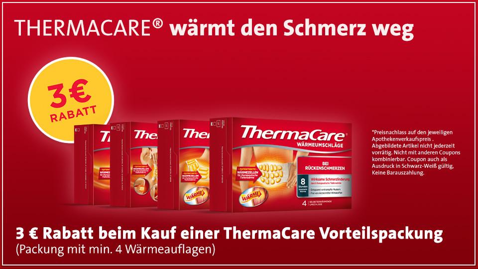 ThermaCare- 3 Euro Rabatt